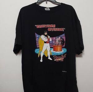 """Vtg Space Ghost """"Greetings Citizens!"""" T Shirt XL"""